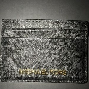 Michael Kors Card Holder- gold hardware